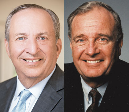 Lawrence H. Summers, Paul Martin